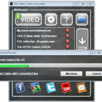 PS3 Video Turbo Converter - Converting Process