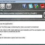 YouTube to iPad Turbo Converter - Main Window