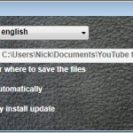 YouTube to iPad Turbo Converter - Settings Window