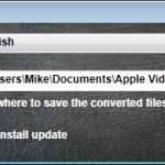 Apple Converter - Settings